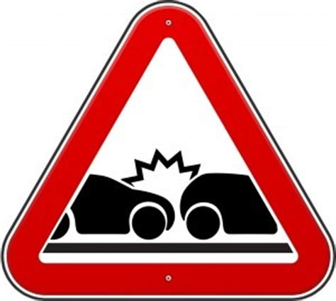 Report writing of an accident on roads